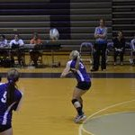GHS Volleyball Varsity falls to North Montgomery High School 1-3