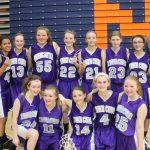 7th Grade Girls BB County Champs