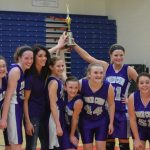 8th Grade Girls Basketball County Champs