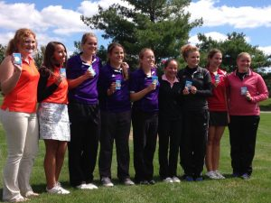 WCC Girls Golf 2014 Championship