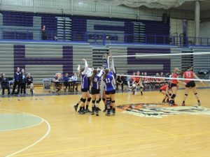 Varsity Volleyball 9/17/14 vs THS