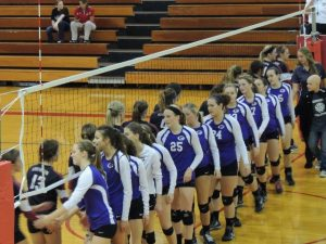 Volleyball 2014 Sectional Semi-Finals vs Northview