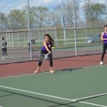 JV and Varsity Tennis Defeat Southmont