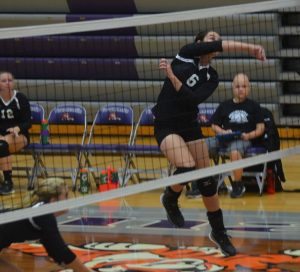 Volleyball vs Tri-West on 8/18/15