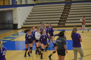 Volleyball at Crawfordsville 8/21/15
