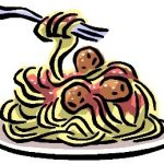 BBB Spaghetti Dinner …This Friday Before the Football Game