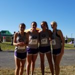 Lady Tiger Cubs run at WIC Conference Meet