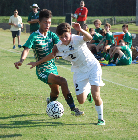 Soccer home today vs South Central