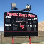 Football Field Gets New Scoreboard