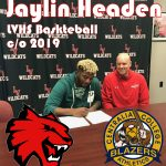 Headen Commits to Centralia College for Baskteball