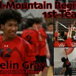 Volleyball's Gray Named Region 1st Team