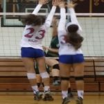 2-0 Start in Hacienda League Play for Girls Volleyball