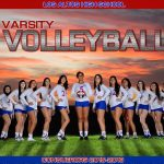 Girls Volleyball Fan Appreciation Night
