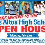 Open House on February 1st