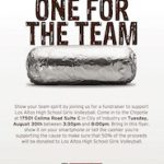 Chipotle Volleyball Fundraiser