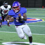 Conquerors Star Back Rushes for 5 Touchdowns Against Newport Harbor