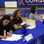 3 Conquerors Sign Letters of Intent