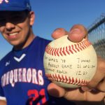 Sam Gomez Throws Perfect Game in 12-0 Victory