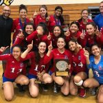 Girls Volleyball Snatches League Victory