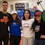 Four Conquerors Sign Letters of Intent