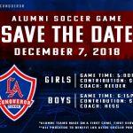 Soccer Alumni Game
