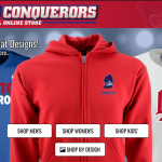 A Variety of Conqueror Gear Now Available at the New Los Altos Online Store