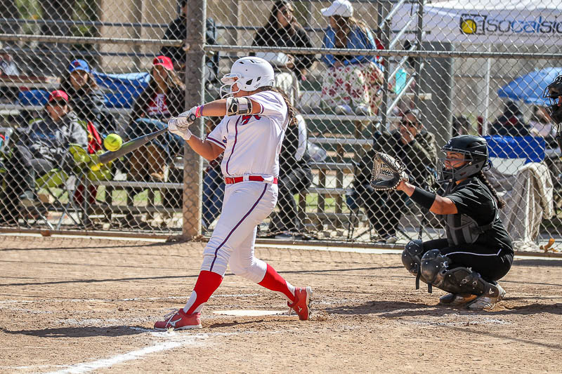 Vidal Slugs Home Run as Los Altos Softball Routs Walnut in Rematch