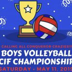 Volleyball Will Play for CIF Title at Home