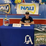 Zaldivar Signs with Northern Arizona