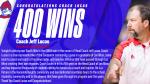 Coach Jeff Lucas Celebrates 400th Career Victory