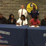 Chinn and Nathaniel Sign With Orangeburg Calhoun Prep Academy