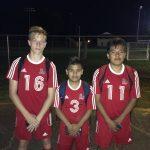 Strom Thurmond High School Boys Varsity Soccer beat Fox Creek High School 4-0