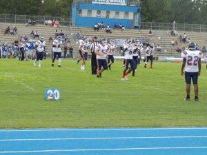 JV Football @ Silver Bluff 8/24/17