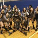 Varsity Volleyball Wins Silver Bracket at Augusta Invitational