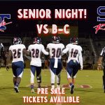 Senior Night! Pre Sale Tickets On Sale Today!