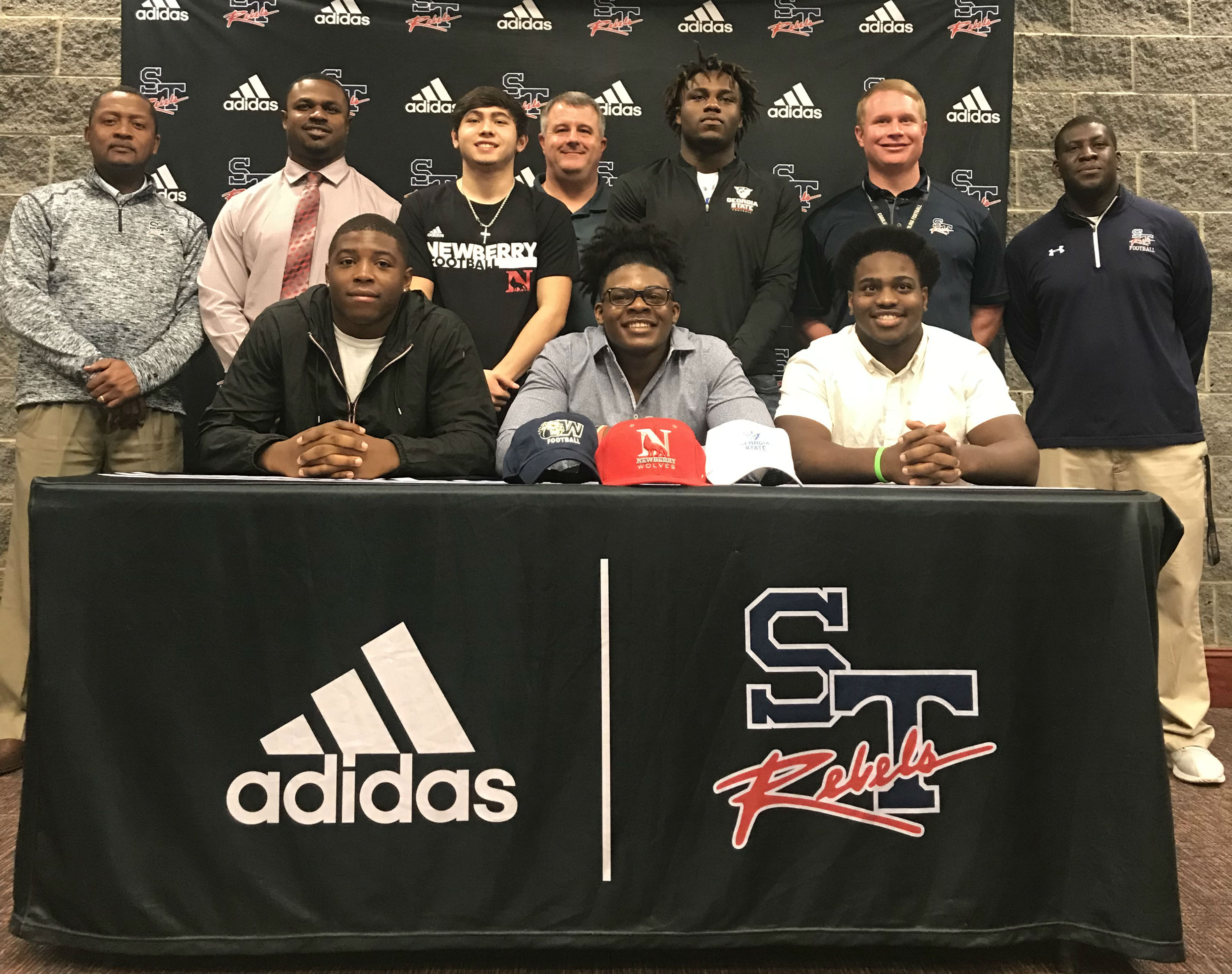 Five Rebel Student Athletes Sign To Play Football At Collegiate Level