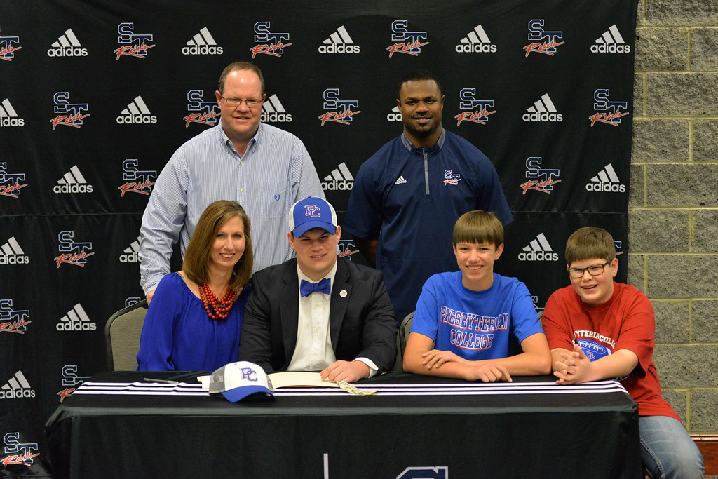 Westbrook Signs To Play At Presbyterian College