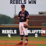 Varsity Baseball beats Bluffton 4 – 0