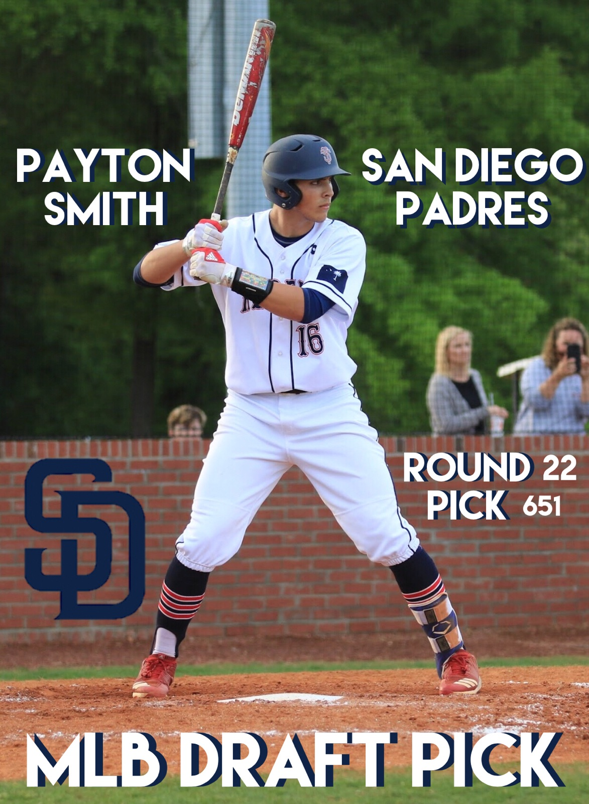 Payton Smith Drafted by the San Diego Padres in 22nd Round