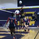 Girls Varsity Volleyball falls to Swansea 3 – 2