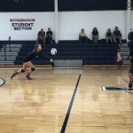 Girls Varsity Volleyball falls to Greenwood 3 – 2