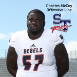 Rebels Offensive Lineman Charles McCoy Selected to 2018 Touchstone Energy North South Game
