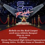 "Athletic Banquet Ticket and Additional Information! ""Rebels on the Red Carpet"""