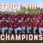 Rebel Baseball Wins District Championship with 3-1 win over Academic Magnet