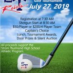 2nd Annual Rebel Booster Kick off Classic Golf Tournament July 27th at Pine Ridge Country Club