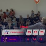 Girls Varsity Volleyball beats Swansea 3 – 0