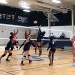 Girls Varsity Volleyball advance to Round 2 of the Playoffs