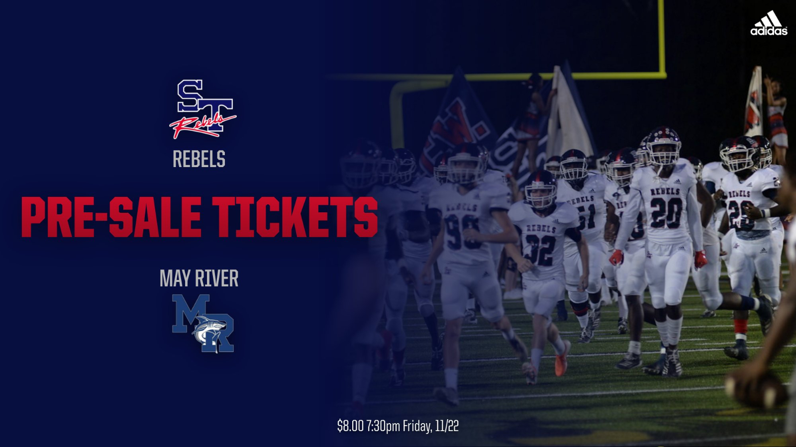 STHS vs May River 3rd Round AAA Playoff Tickets On Sale Now
