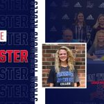 Emillee McAllister signing with coaches and parents