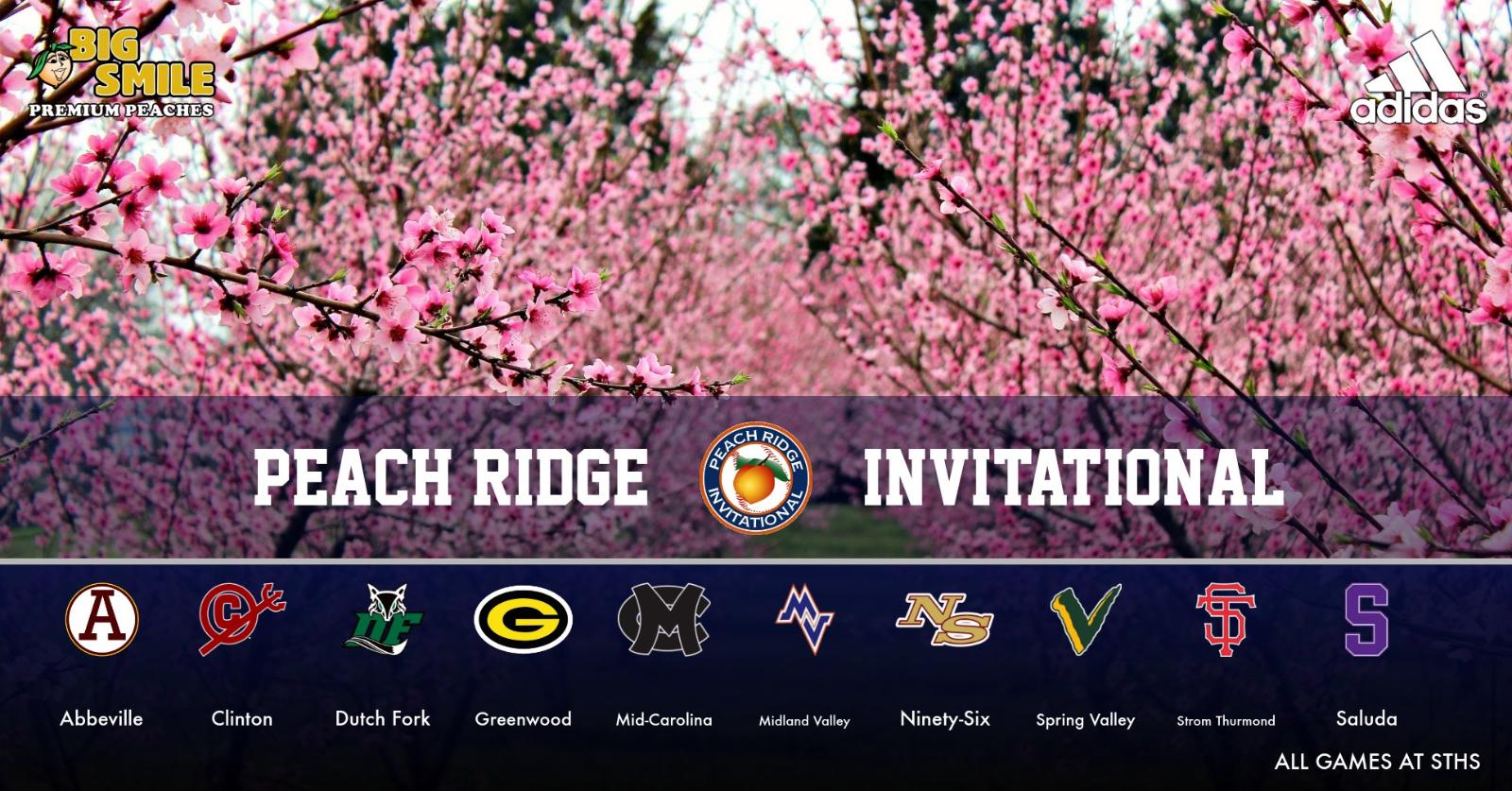 3rd Annual Peach Ridge Invitational Begins Friday February 28th